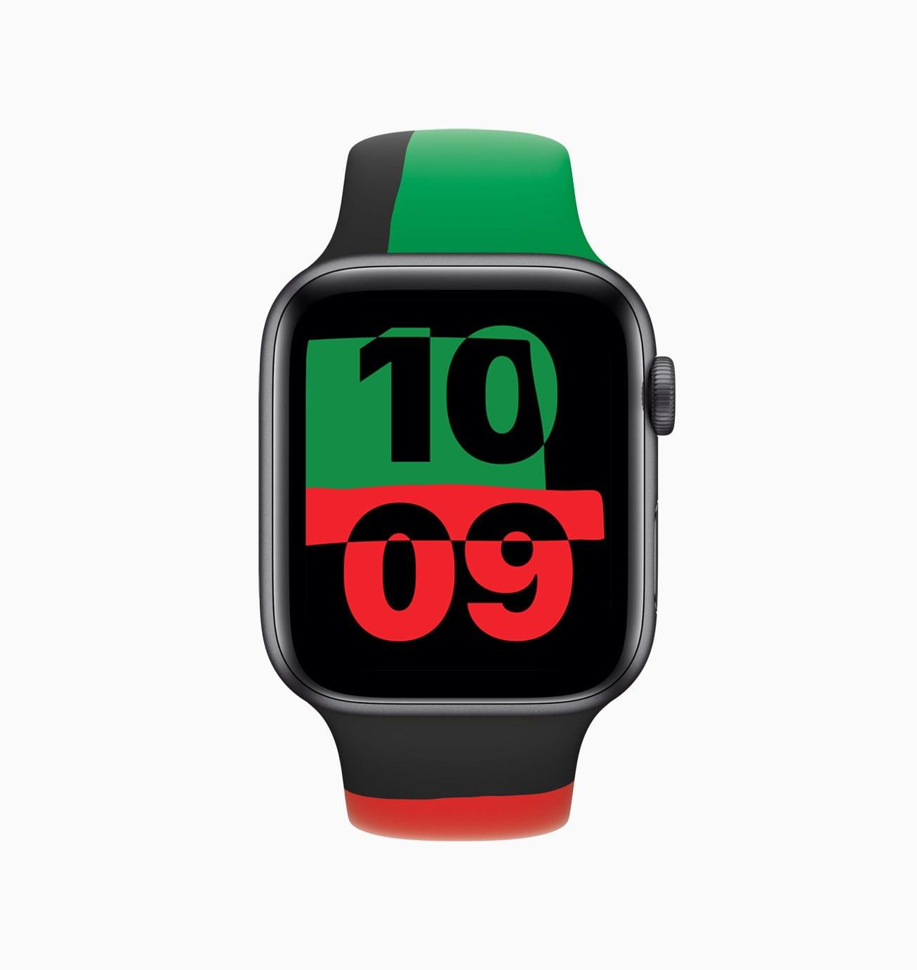 The Apple Watch Unity watch face is part of watchOS 7.3.
