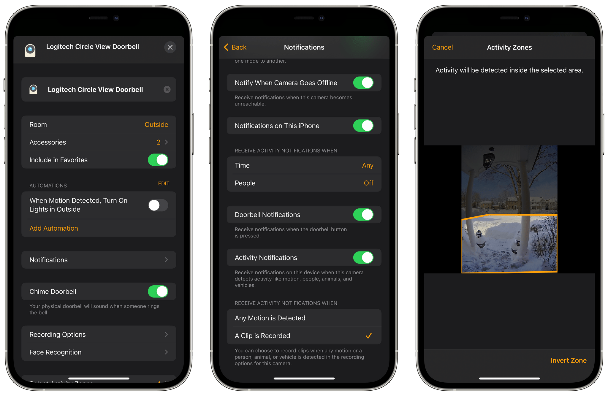 HomeKit Secure Video got off to a rocky start, but it has been working well for me since iOS 14 and includes lots of customization options for the Circle View Doorbell.