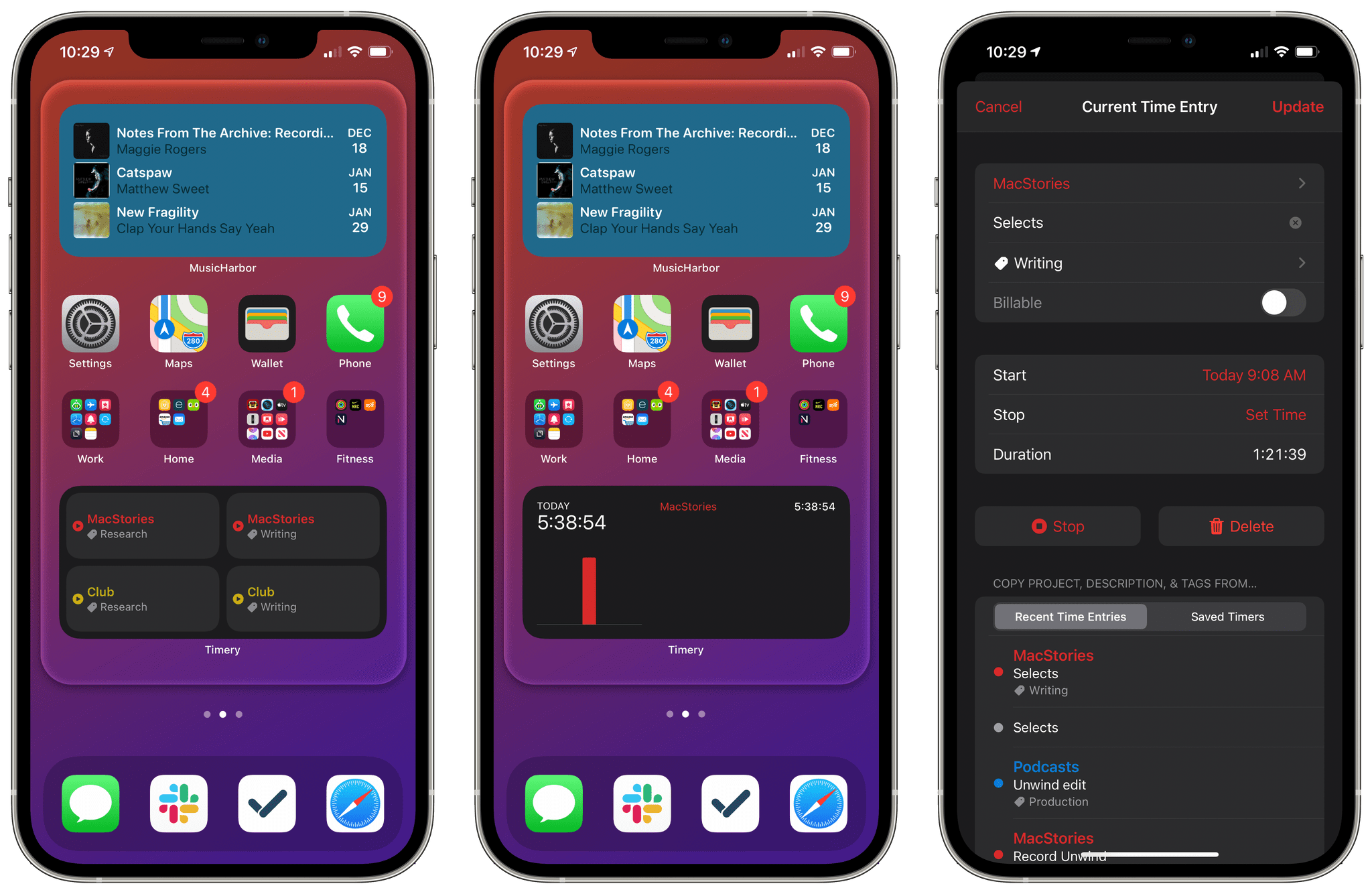iOS 14 means Timery's widgets are no longer as interactive as before, but the app's trio of new widgets more than makes up for it in new functionality.