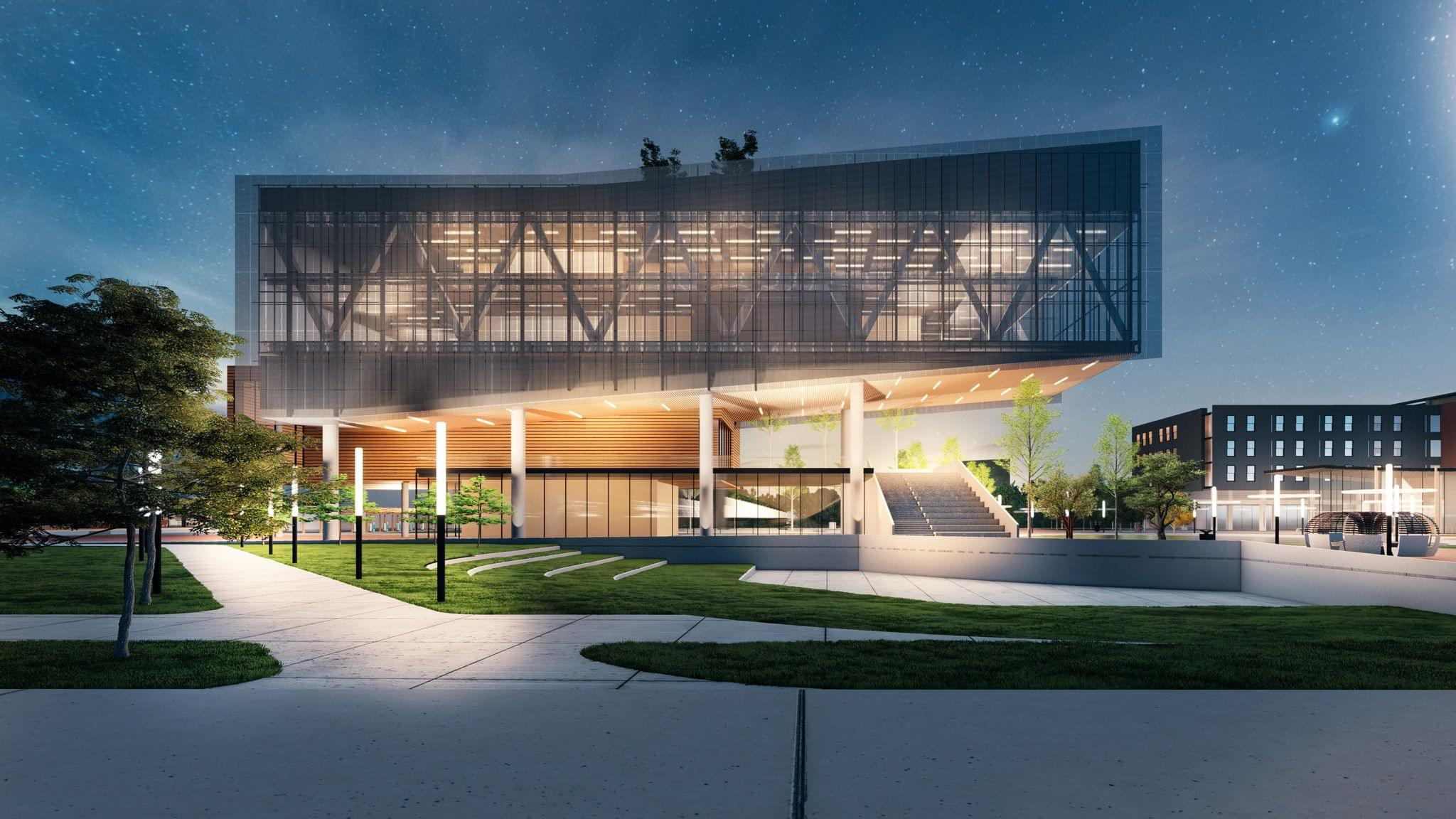 Rendering of the Propel Center.